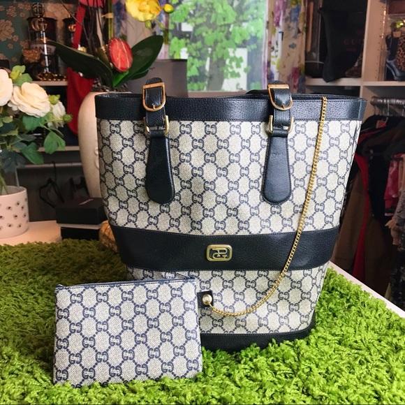 Gucci Handbags - Auth GUCCI Plus Late 70's 80's Bucket Tote RARE!